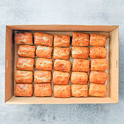 Mixed sausage rolls box thumbnail