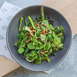 Super green vegetable salad - individual thumbnail