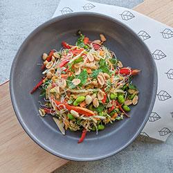 Vietnamese rice noodle salad - individual thumbnail