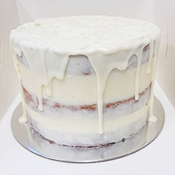 White chocolate blonde cake thumbnail