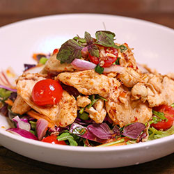 Thai chicken salad thumbnail