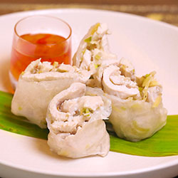 Chicken rice paper roll thumbnail
