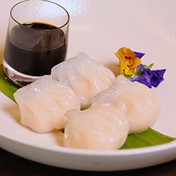 Prawn and bamboo dumplings thumbnail