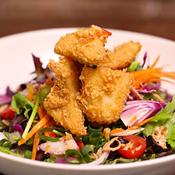 Salt and pepper squid salad thumbnail