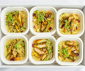 Chicken and couscous salad thumbnail