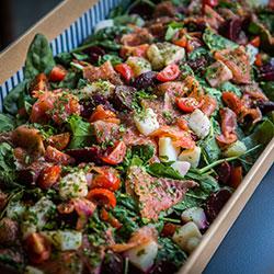 Salmon salad thumbnail
