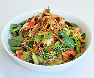 Crispy chicken salad thumbnail