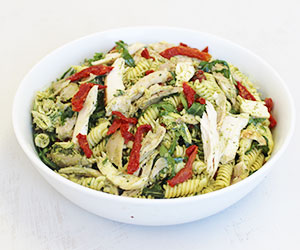 Roast chicken pasta salad thumbnail