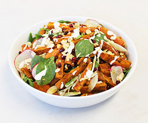 Harissa roasted carrots salad thumbnail