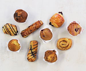 Petite muffin and pastry platter thumbnail