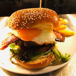 Bacon and egg brioche thumbnail