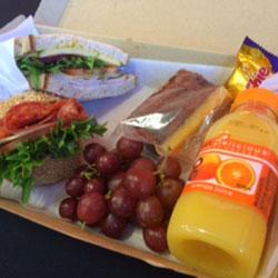 Cobb, bap and treats lunch box thumbnail