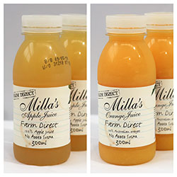 Milla's fresh juices - 300ml thumbnail