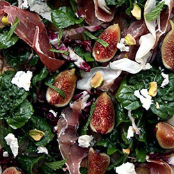 Balsamic fig and goat cheese salad thumbnail
