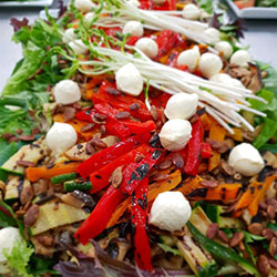 BBQ vegetable salad thumbnail