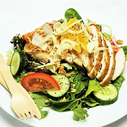 Chicken and fennel salad thumbnail