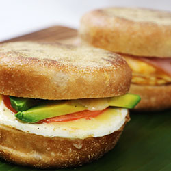 Gluten free English muffin  thumbnail