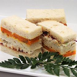 Gluten free ribbon sandwich thumbnail