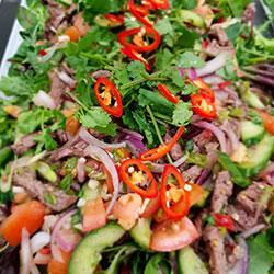 Thai beef salad - individual box thumbnail
