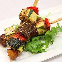 Vegetarian Dukkah skewer thumbnail