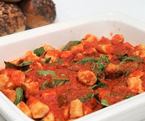 Gnocchi with Napoli sauce thumbnail