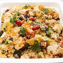Spiced skinless and lean chicken quinoa thumbnail