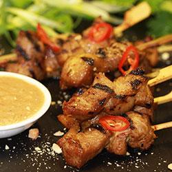 Thai style pork satay thumbnail