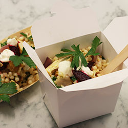 Organic chicken breast and pearl couscous salad thumbnail