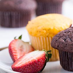 Gluten free muffin thumbnail