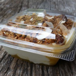 Baked muesli and yoghurt cup thumbnail