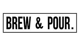Brew & Pour logo