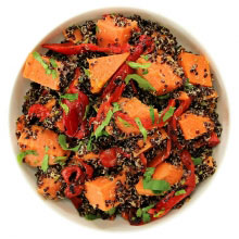 Black quinoa and sweet potato thumbnail