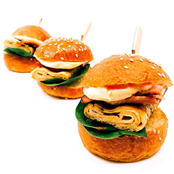 Mini breakfast slider thumbnail