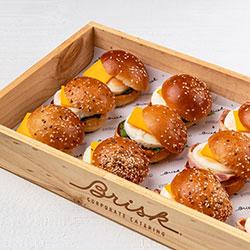 Breakfast brioche roll thumbnail