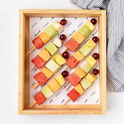 Fruit skewers - medium thumbnail