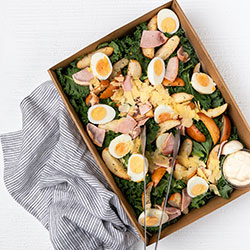 Chicken and kale Caesar salad thumbnail