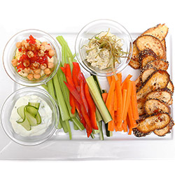 Dip and crudites platter thumbnail