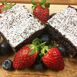 Brownies and berries thumbnail