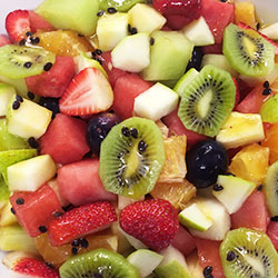 Fruit salad and yoghurt bowl thumbnail