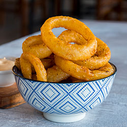Beer battered onion rings thumbnail