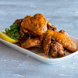 Spiced chicken wings thumbnail