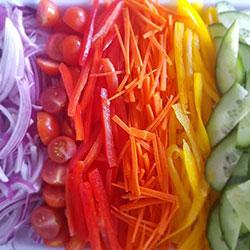 Rainbow salad thumbnail