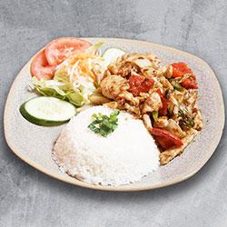 Vietnamese rice - bbq chicken thumbnail