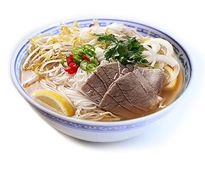 Pho noodle soup - beef thumbnail