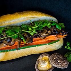 Vegetarian banh mi thumbnail