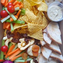Vegan snacks platter thumbnail