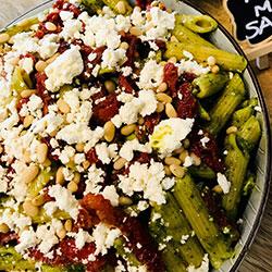 Pasta salad bowl thumbnail