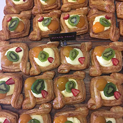 Assorted Danish pastries thumbnail