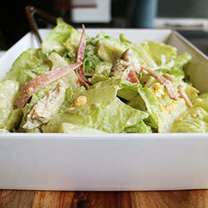 Chicken Caesar salad - serves up to 8 thumbnail