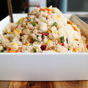 Fried rice - serves up to 8 thumbnail